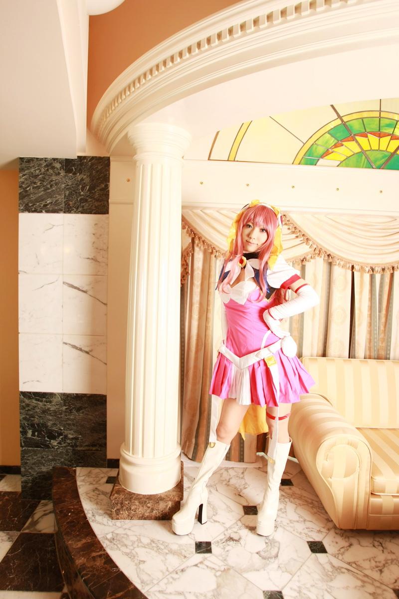 Sexy cosplay Misaki Hanamura 01