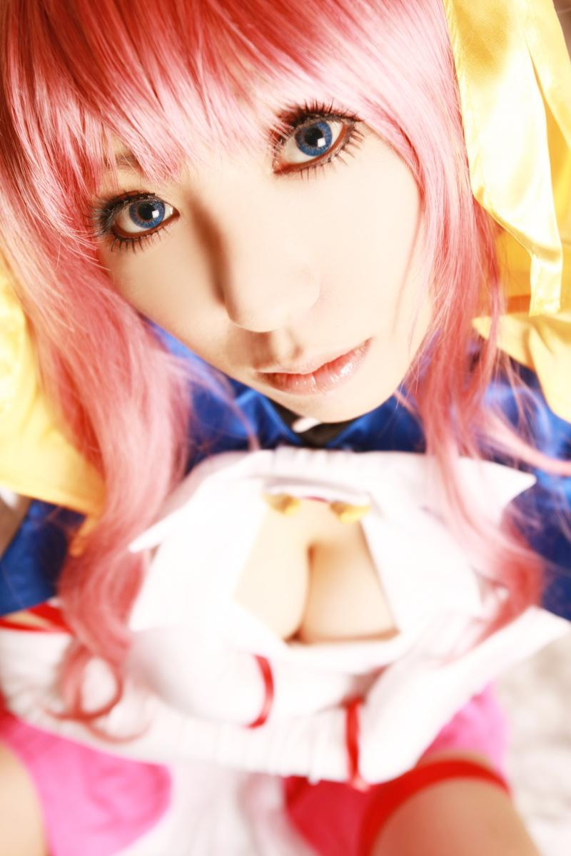 Sexy cosplay Misaki Hanamura 09