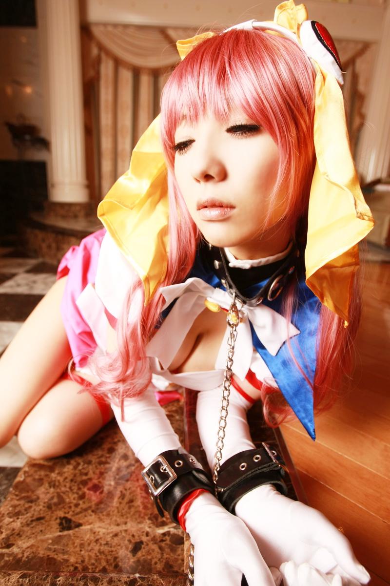 Sexy cosplay Misaki Hanamura 11